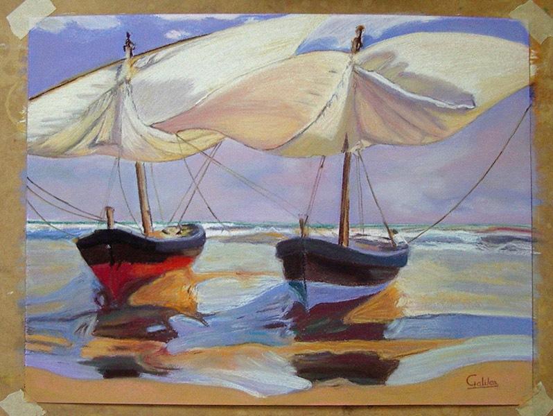 Alicia G, óleo sobre lienzo, curso 2015-2016