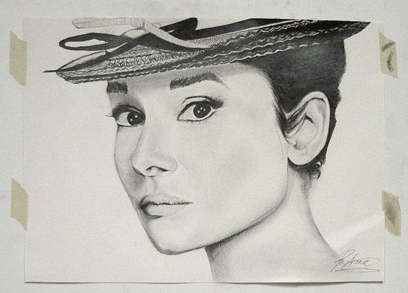 Rebeca, grafito, curso 2015-2016