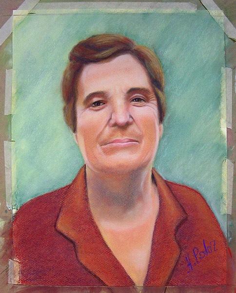 Ángela P, pastel, curso 2015-2016