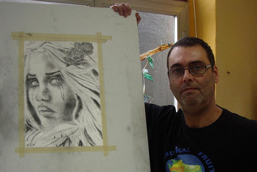 Fernando, grafito, curso 2015-2016