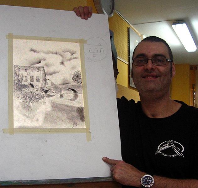 Fernando M, grafito, curso 2015-2016