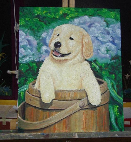 Unai, óleo sobre lienzo, curso 2015-2016