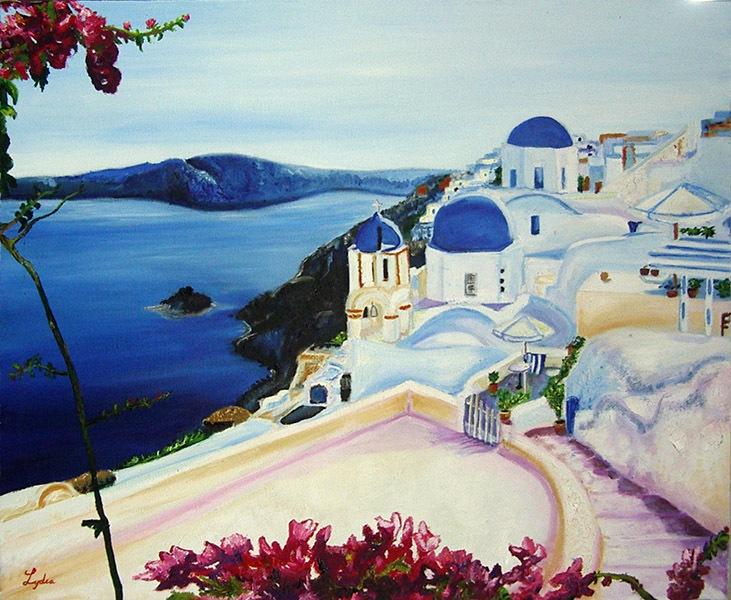 Lidia, óleo sobre lienzo. Curso 2015-2016