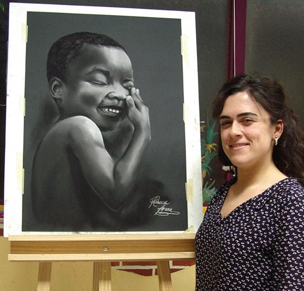 Rebeca, pastel, curso 2015-2016