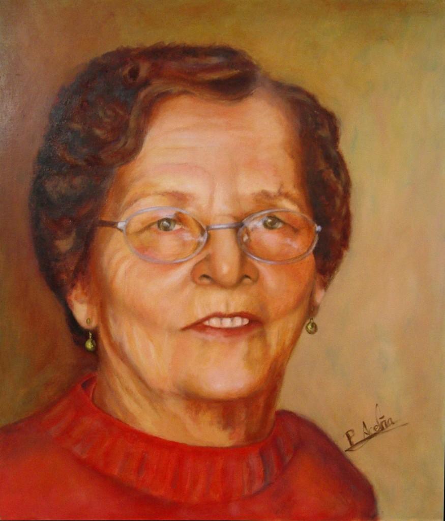 Pilar. Obra de Pilar Aceña, óleo sobre lienzo. 2011