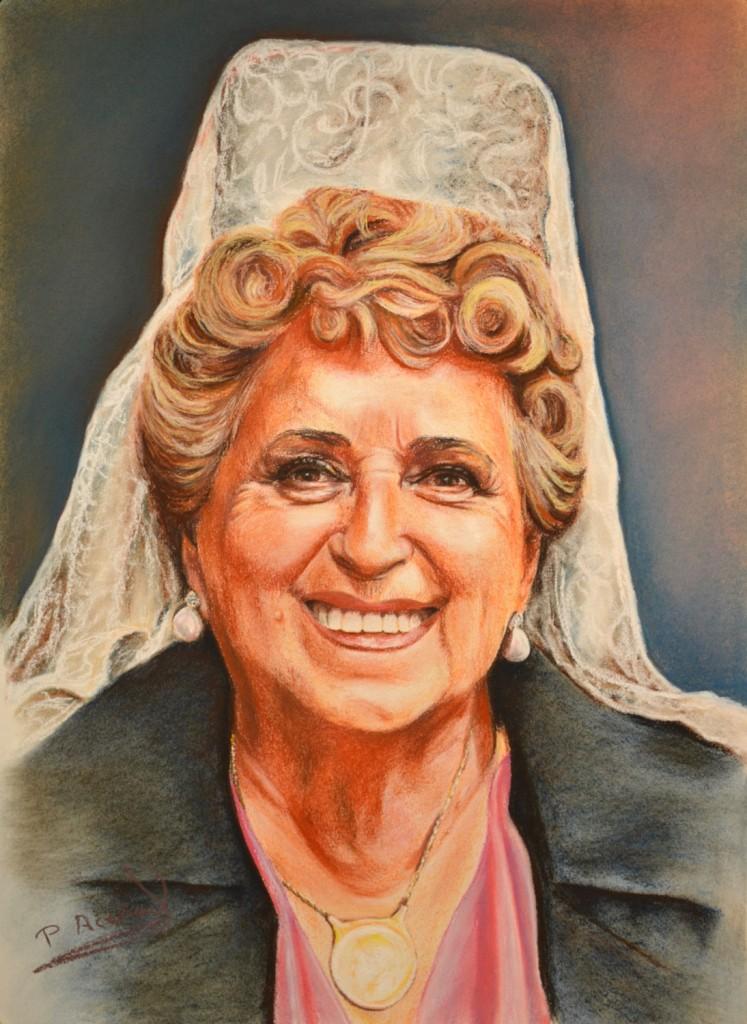 Pilar Aceña, pastel. 2011