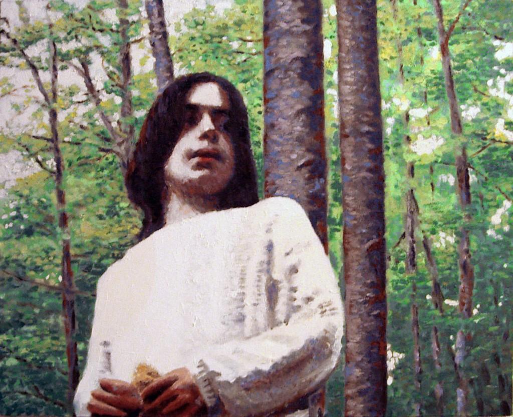 Samuel.Óleo sobre lienzo, Javier Olmedo, 2003