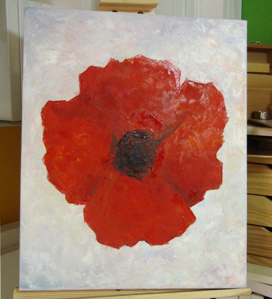 Teresa, óleo sobre lienzo, curso 2015-2016