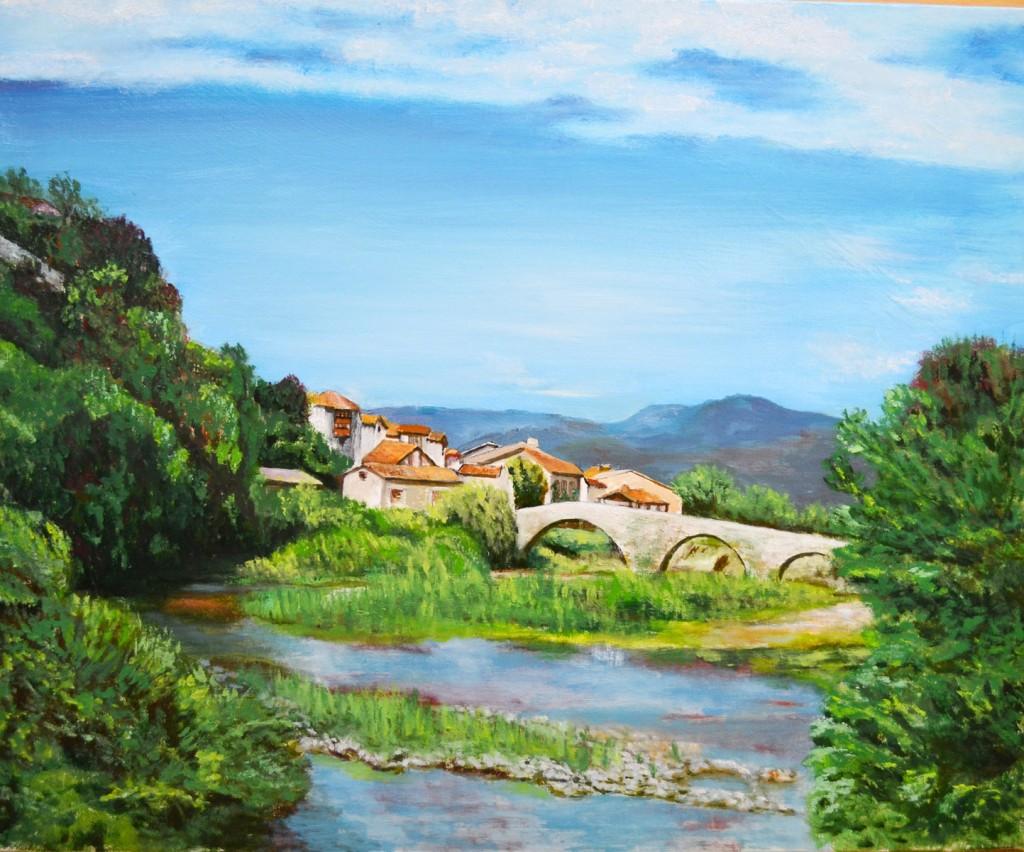 Burgi. Pilar Aceña, óleo sobre lienzo, 60 x 50cm. Año 2011. PV 290 €