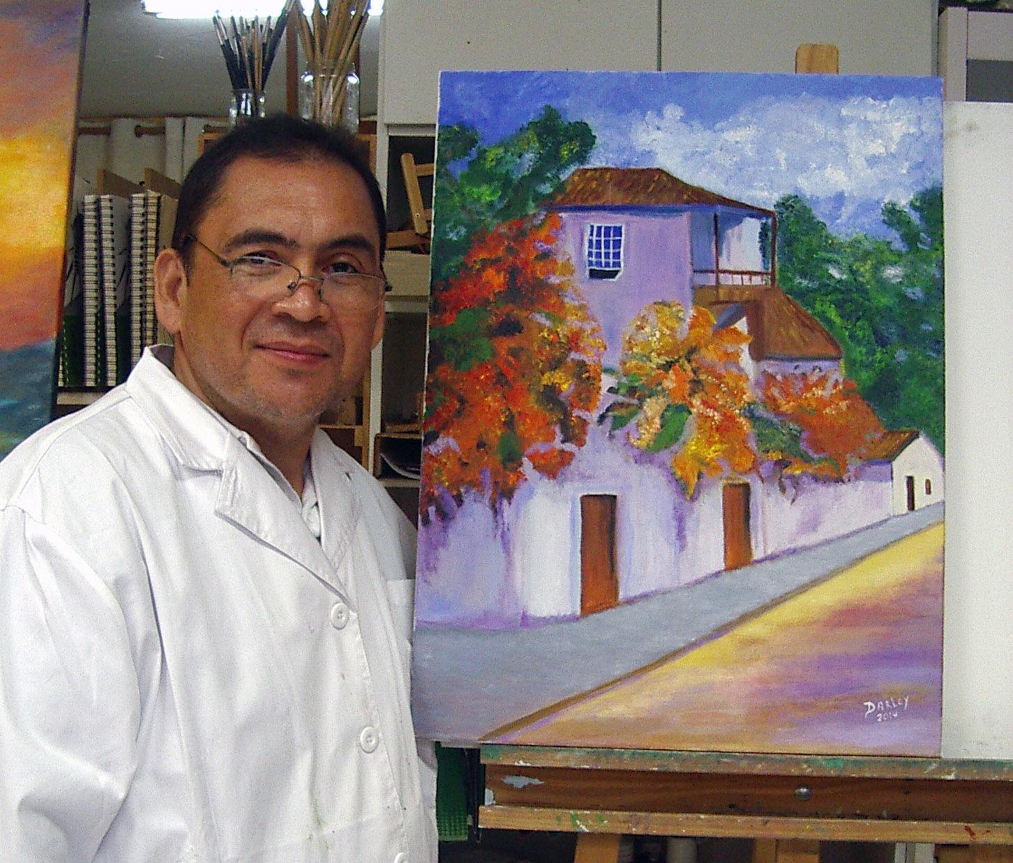 Darley, óleo sobre lienzo, curso 2015-2016