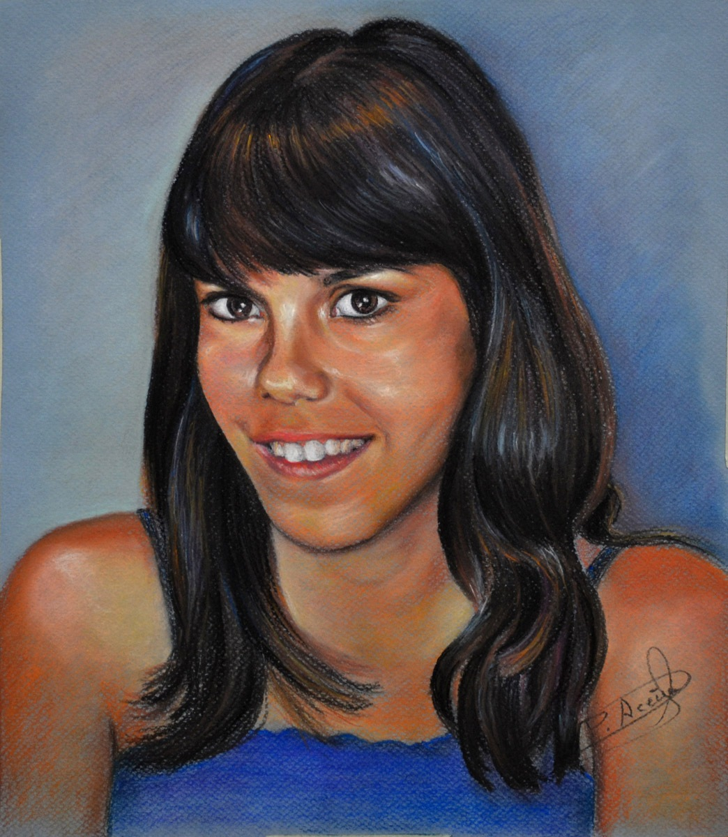 Lara. Obra de Pilar Aceña, pastel. 2011