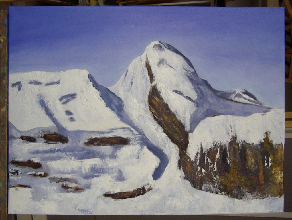 Paqui, óleo sobre lienzo, curso 2015-2016