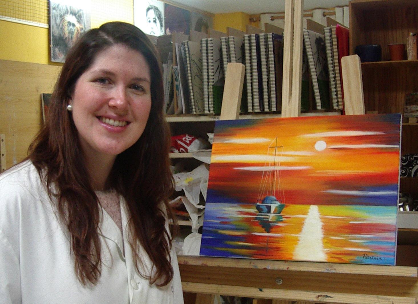 Patricia, óleo sobre lienzo, curso 2015-2016
