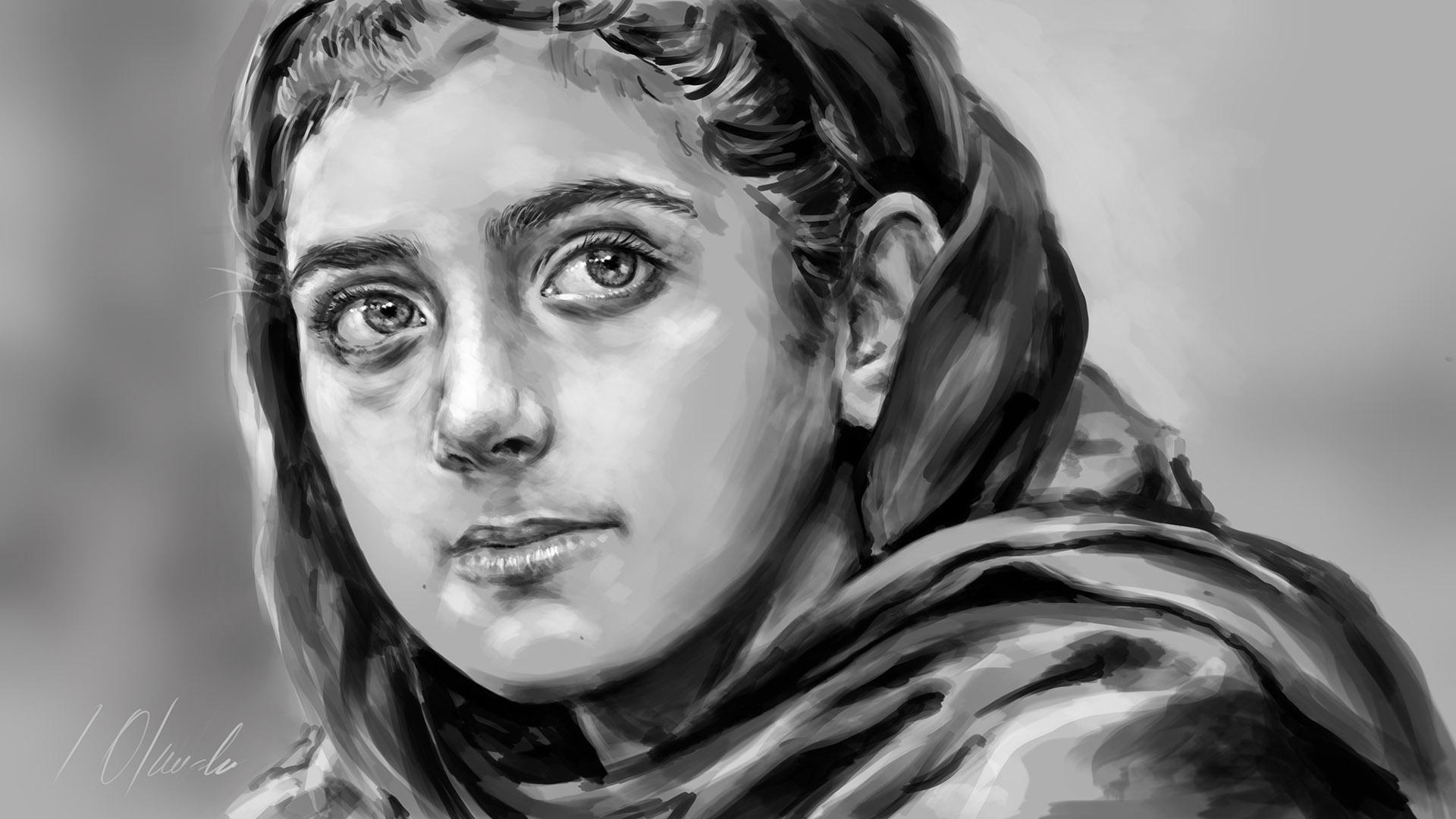 Nabila Rehman. Tableta gráfica. Javier Olmedo, 2016