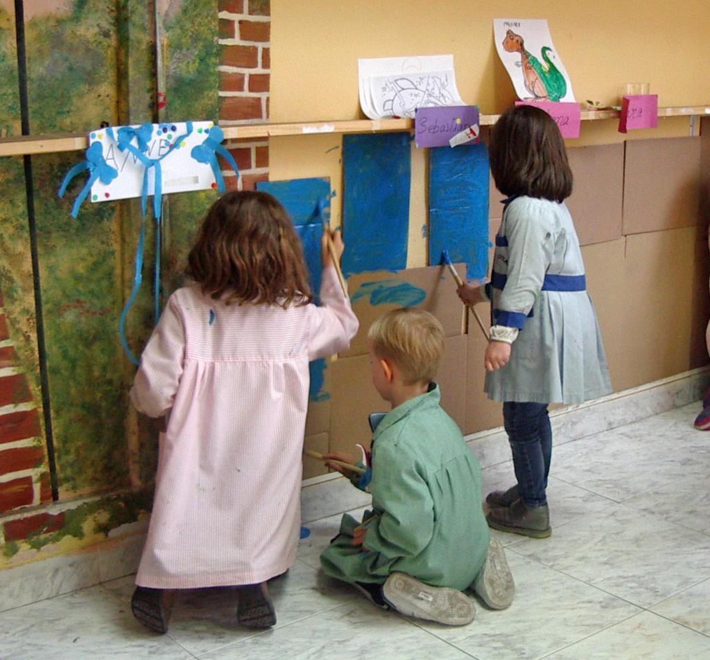 Las futuras generaciones de artistas. Taller Aceña - Olmedo. Curso 2015 - 2016