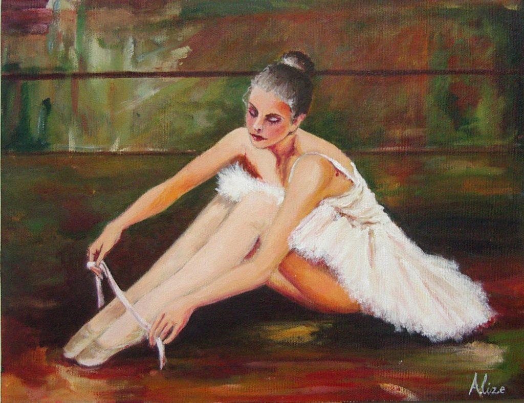 Alize, acrílico sobre lienzo. Taller Aceña - Olmedo, curso 2015 - 2016