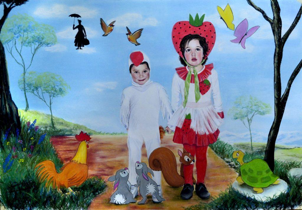 Pilar Aceña, Pastel. 100 x 70 cm. 2016