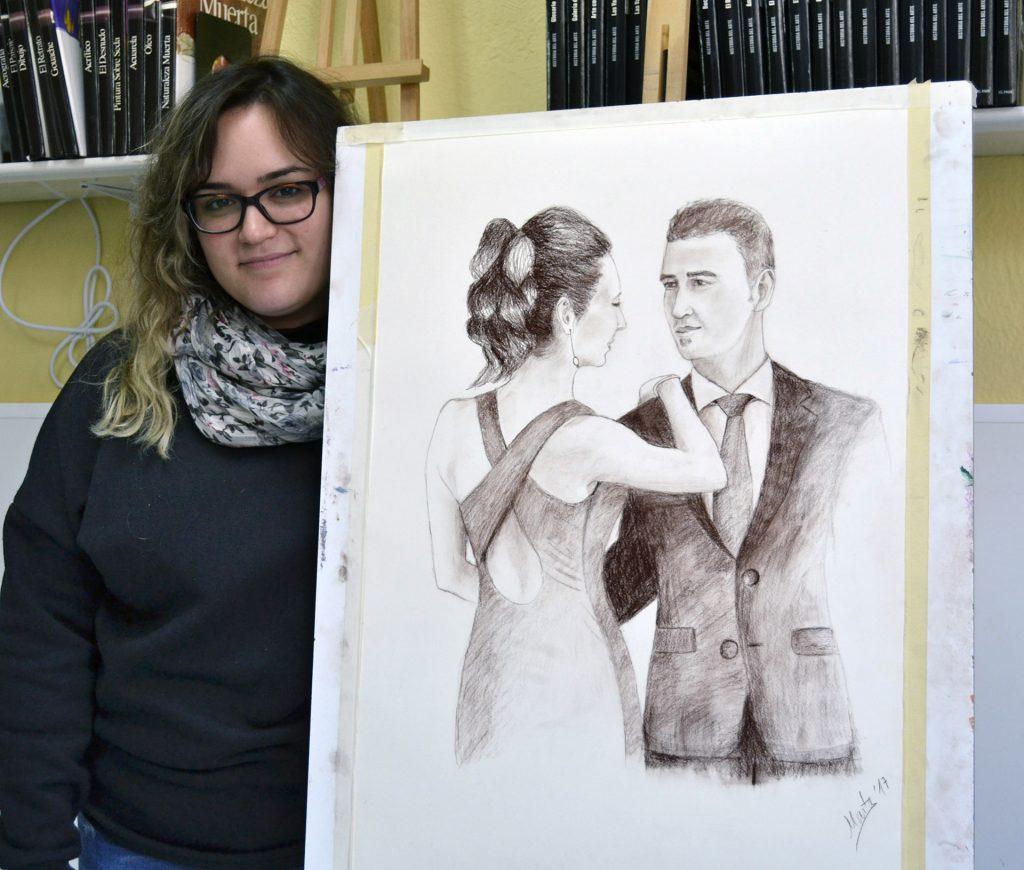 Marta C, sepia. Taller Aceña - Olmedo. Curso 2016 - 2017