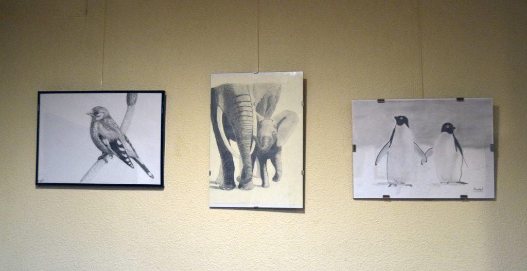 Exposición de alumnos, bar Gartxot, abril de 2017