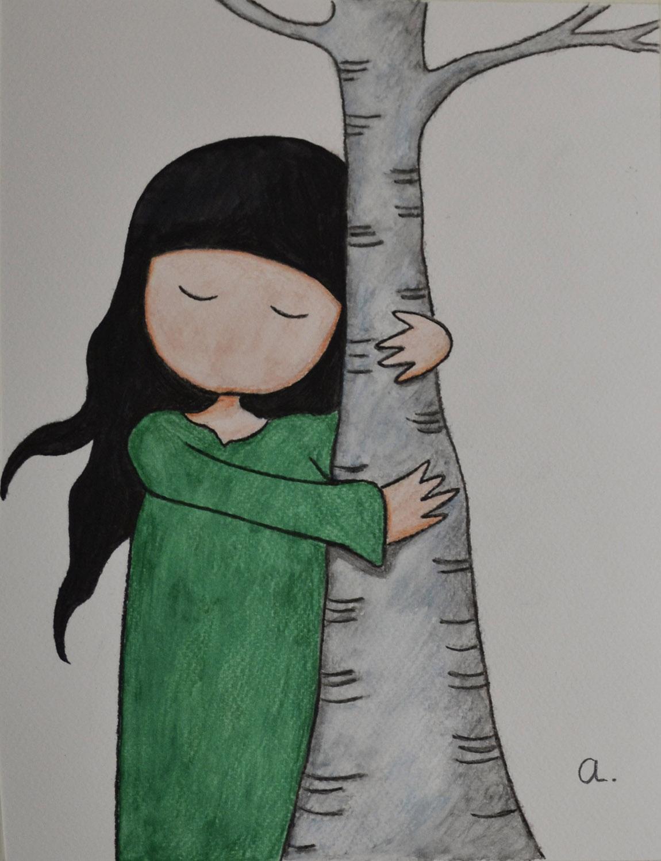 Ainhoa, pastel. Taller Aceña - Olmedo. Curso 2016 - 2017