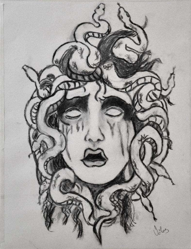 John Alexander, grafito. Taller Aceña - Olmedo. Curso 2016 - 2017