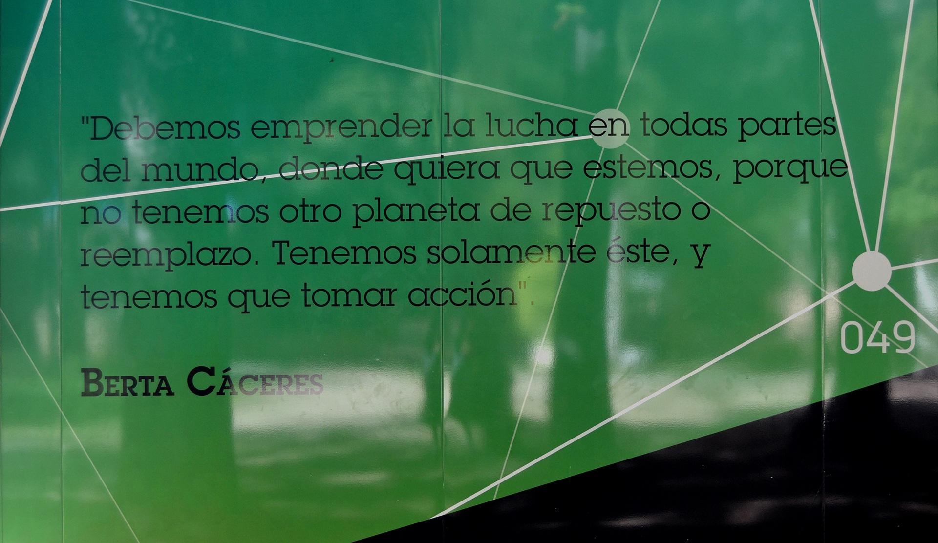 """Aula Verde """"Berta Cáceres"""""""