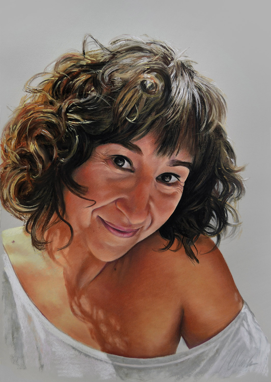 Pastel, 50 x 70 cm. Javier Olmedo, año 2017