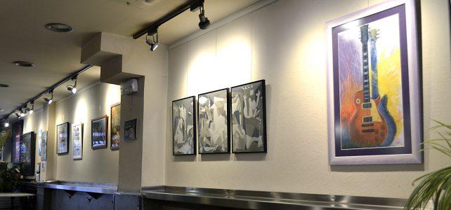 Exposición de alumnos Bar Gartxot, febrero y marzo 2018