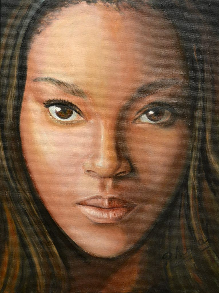 Pilar Aceña, óleo sobre lienzo. 30 x 40 cm. 2018