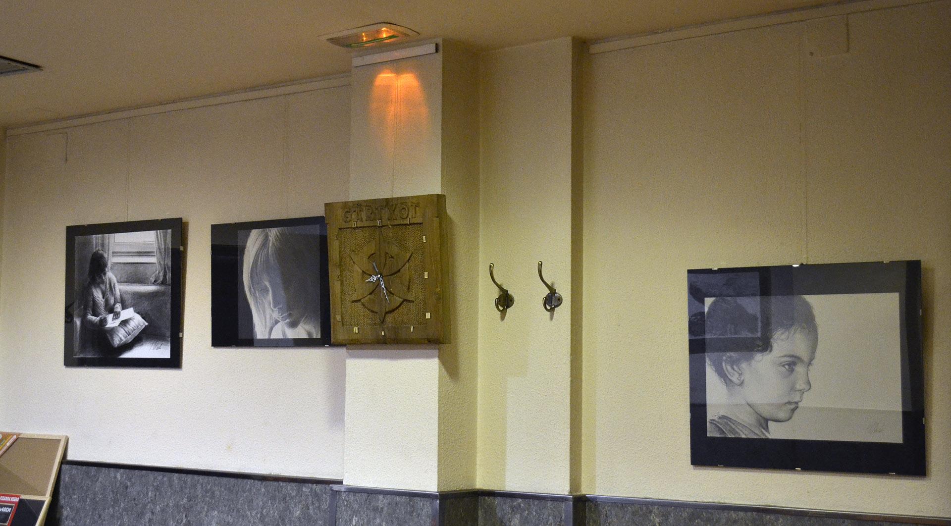 Exposición Javier Olmedo, Bar Gartxot mayo - junio de 2018. 03