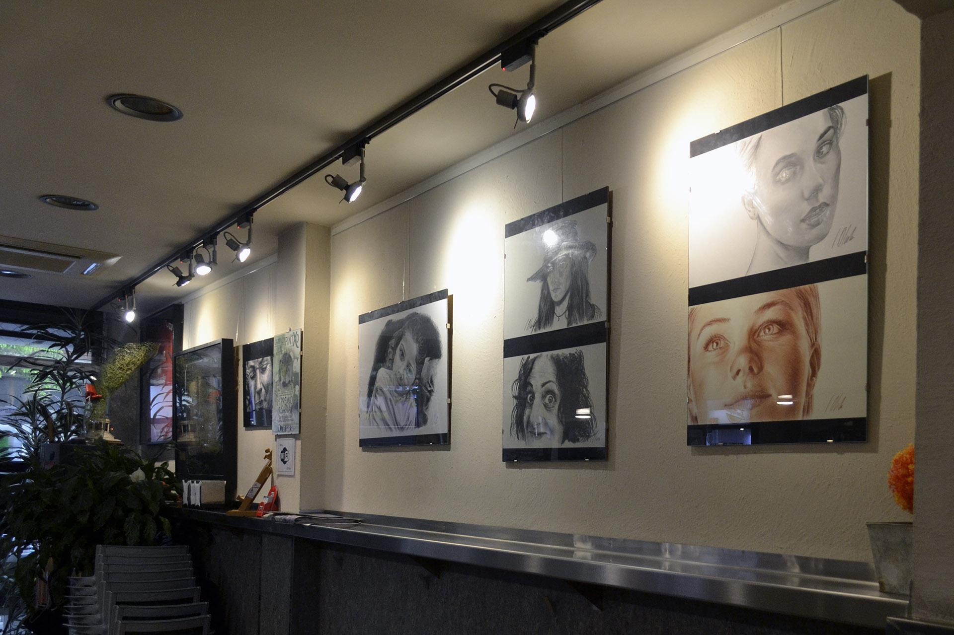 Exposición Javier Olmedo, Bar Gartxot mayo - junio de 2018. 07