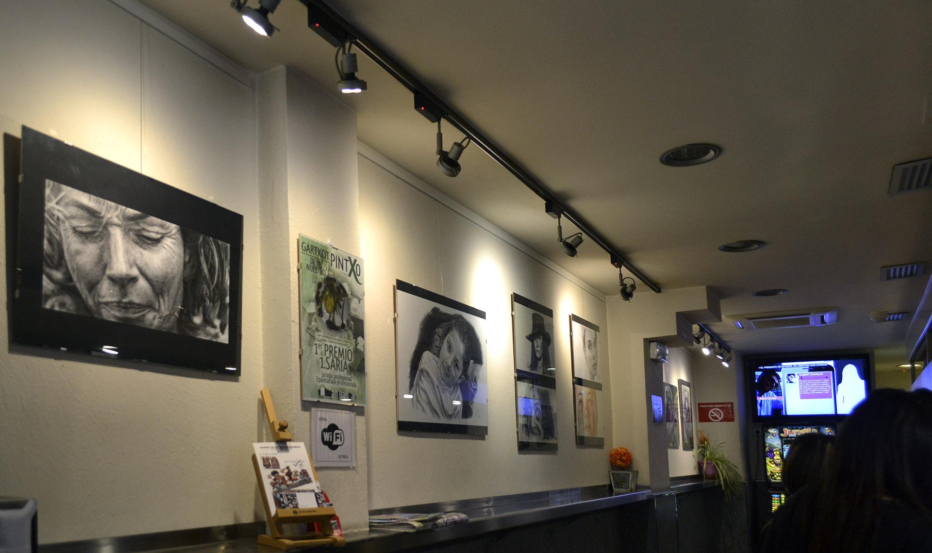 Exposición Javier Olmedo, Bar Gartxot mayo - junio de 2018. 08
