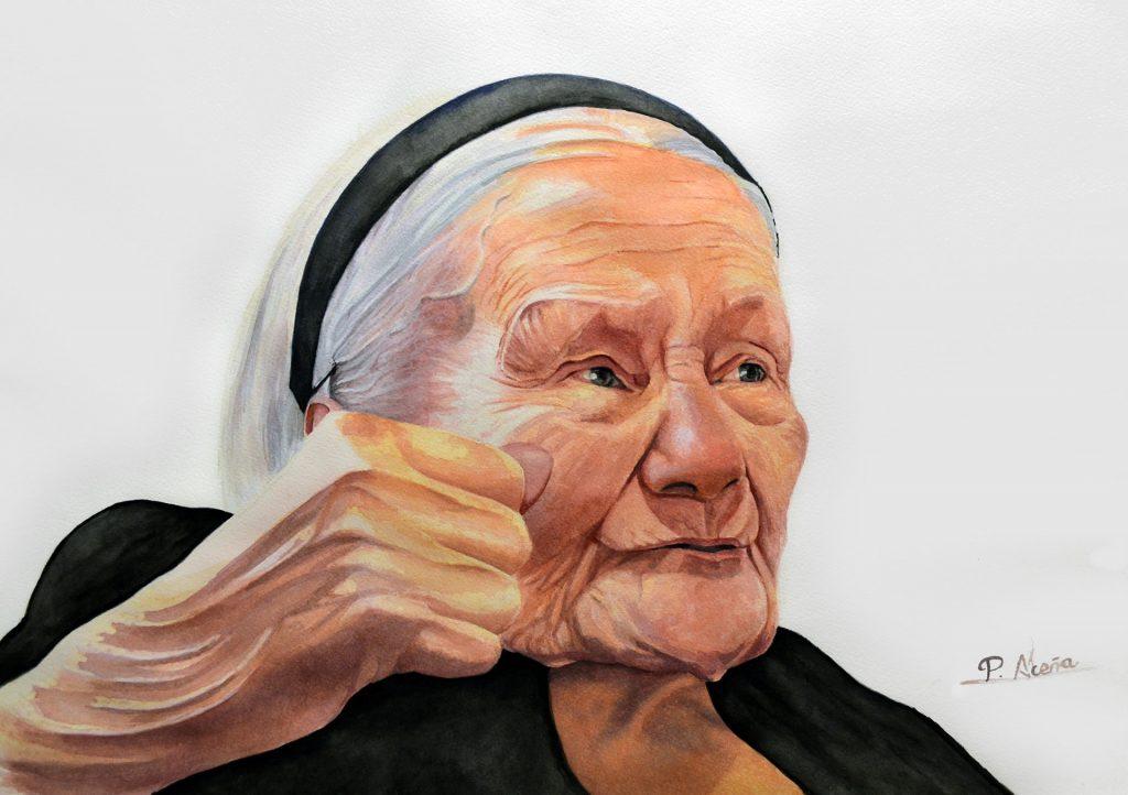 Pilar Aceña, acuarela