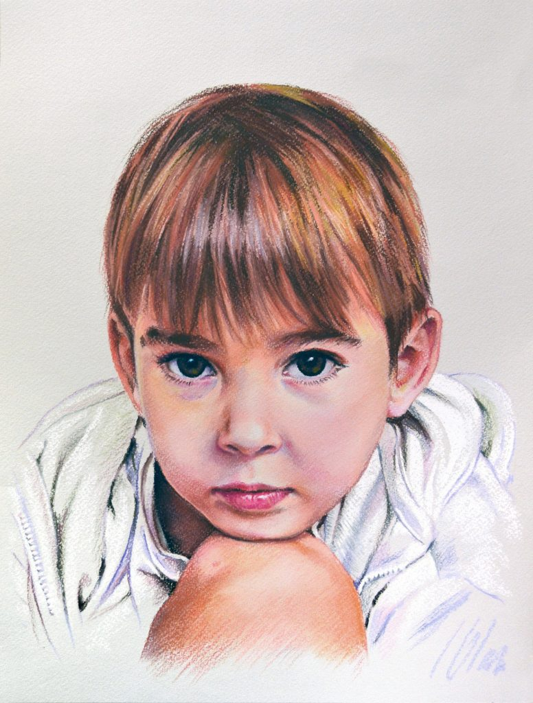 Pastel, 30 x 40 cm. Javier Olmedo, año 2018