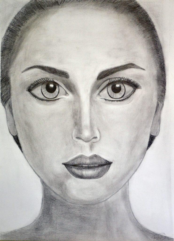 Rebeca Álvarez, grafito. Taller Aceña - Olmedo, curso 2018-2019