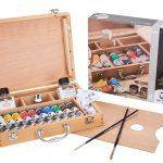 Set completo de pintura al óleo