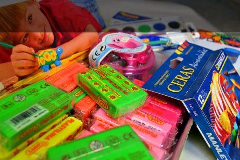 Material infantil y escolar