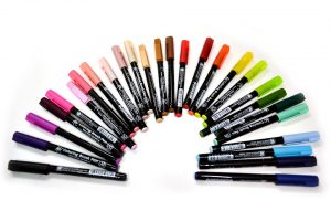 """""""Brush Pens"""" Koi de Sakura, colores sueltos"""