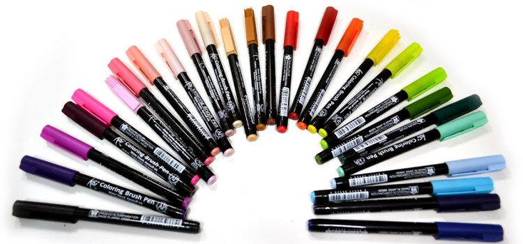 Rotuladores, colores sueltos
