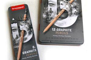 Cajas metálicas lápiz grafito Bruynzeel