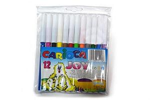 Estuche de 12 rotuladores Carioca Joy