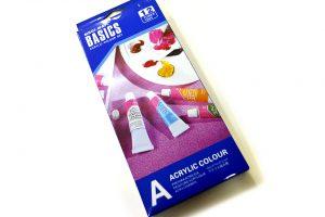 Set 12 colores acrílico Basics