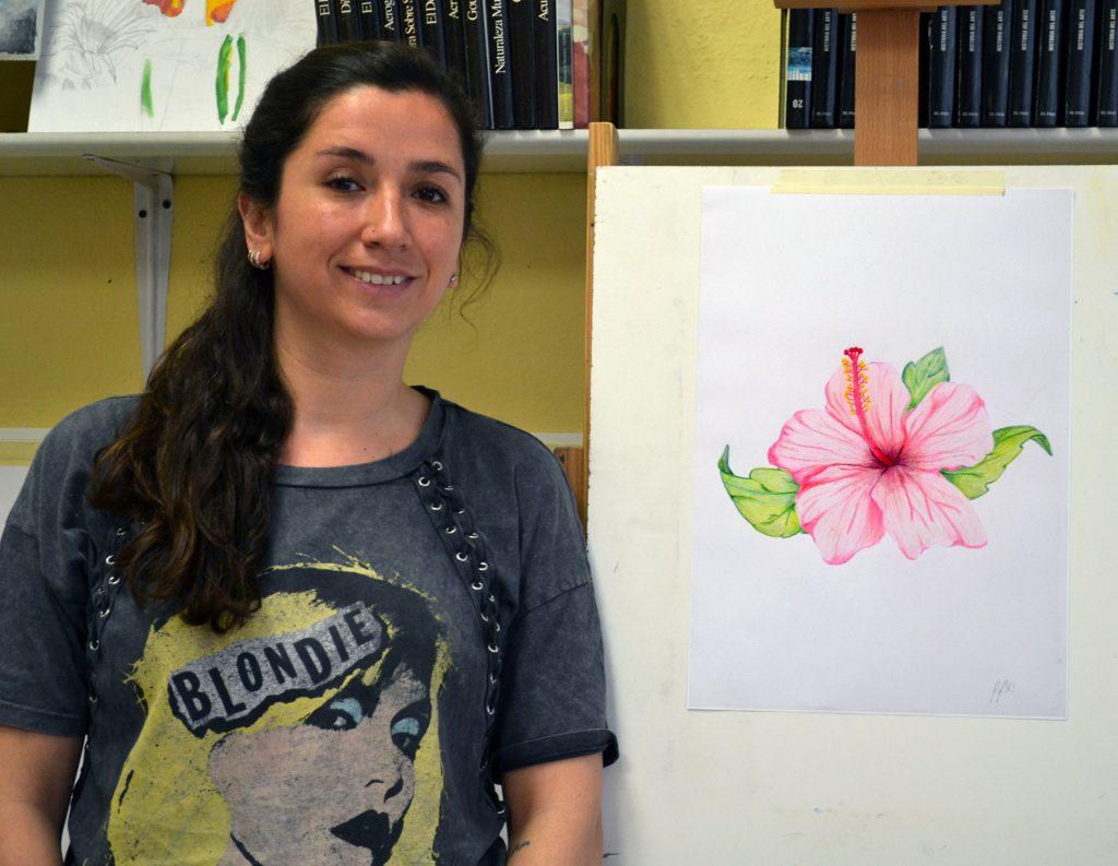 Belén, acuarela. Taller Aceña - Olmedo, curso 2018-2019