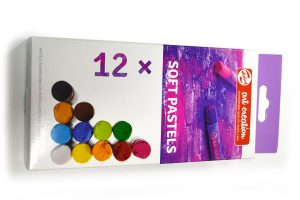 Pastel Art Creation de Talens en caja de 12 colores