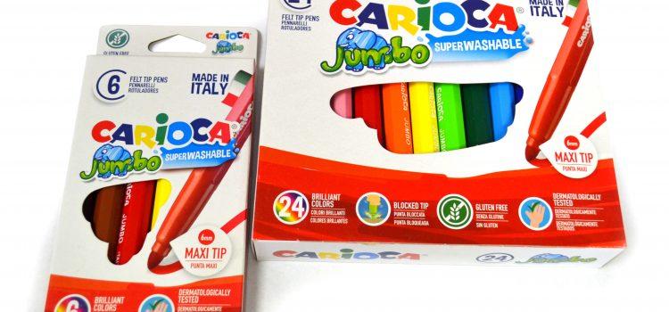 Estuches de 6 y 24 rotuladores «Carioca Jumbo»