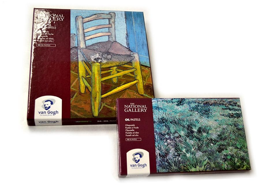 Pastel al óleo Van Gogh set National Gallery