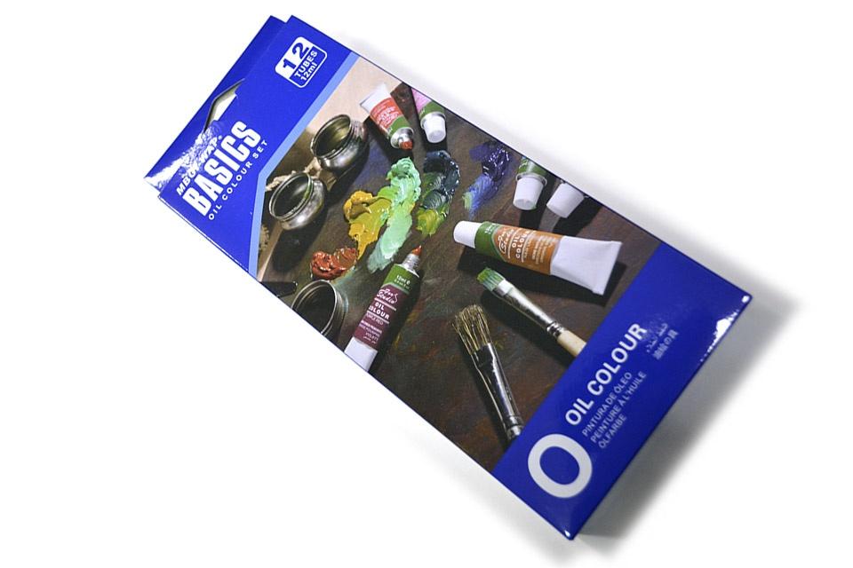 """Set de 12 colores al óleo """"Basics"""""""