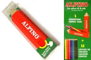 "Estuche ""lápiz"" Alpino"