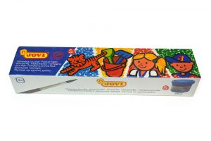 Témperas Jovi, caja de 5 colores