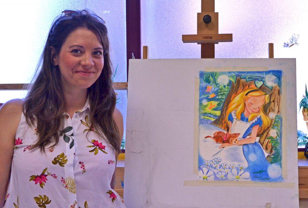 Marta Elarre, pastel. Taller Aceña-Olmedo. Curso 2019-2020